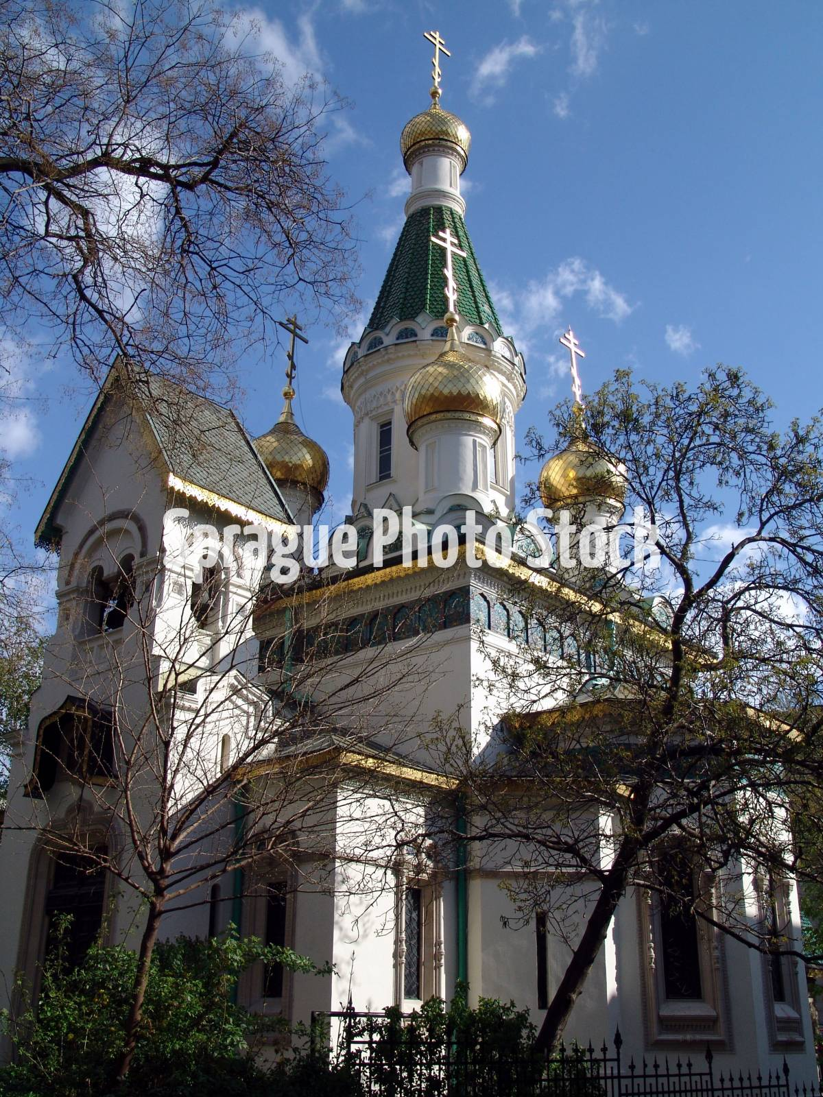 Saint Nikolai Russian Orthodox church, Sofia, Bulgaria.