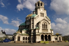 Alexander Nevsky Orthodox cathedral, Sofia. Bulgaria.