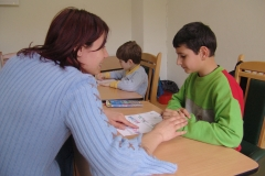 Day care centre for children with special needs, Sofia. Bulgaria.