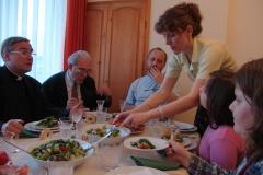 Dinner party, Sofia. Bulgaria.